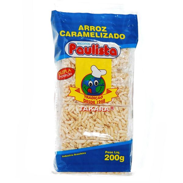 Arroz Caramelizado Paulista Tradicional 200g