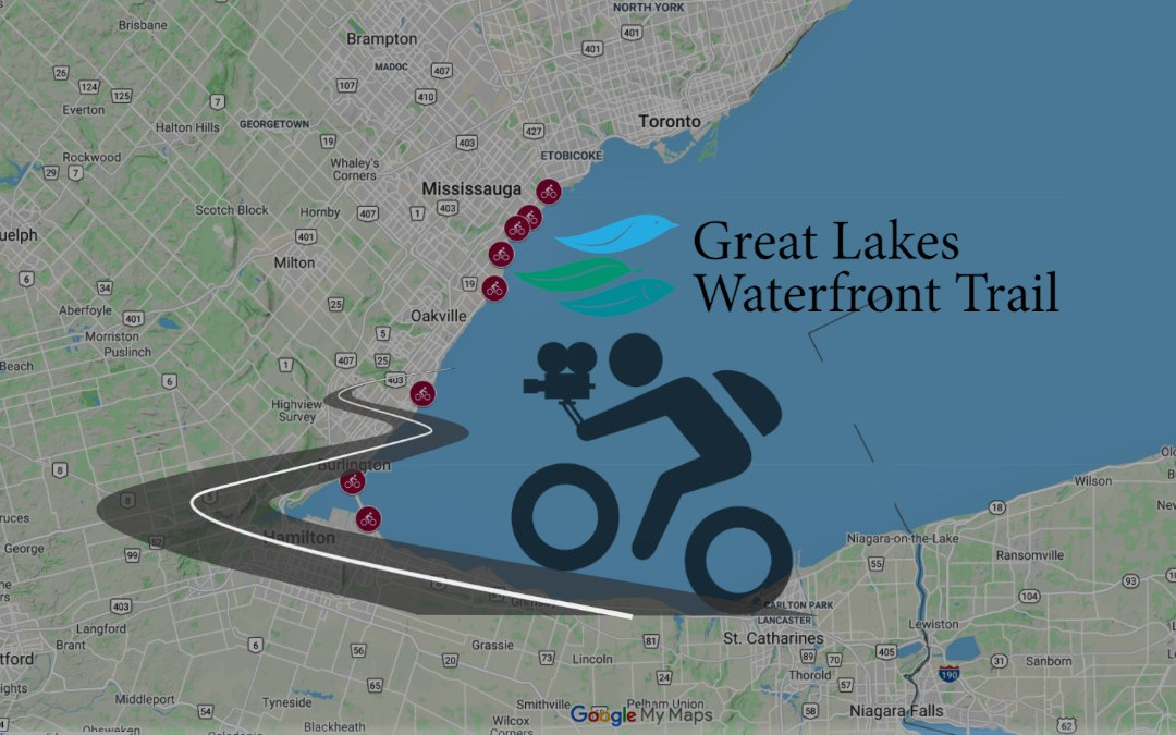 Bike Cam Videos along the Waterfront Trail