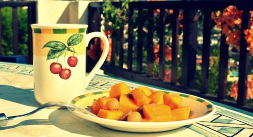 тыква с фруктами в духовке рецепт