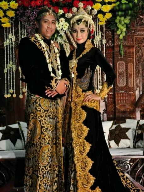 Foto Pengantin Jawa : pengantin, Kebaya, Pengantin, Yuliawidayanti