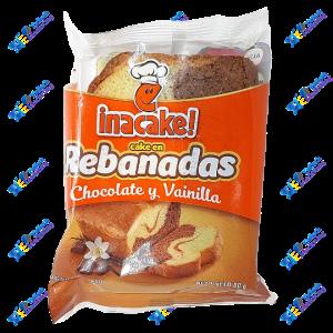 Inalecsa Inacake Pancake Rebanada de Chocolate 80 g