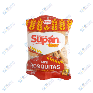 Supán Mini Rosquitas Integral 50 gr