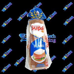 Supán Pan Blanco Sin Grasa Trans 20 Rebanadas 525 g