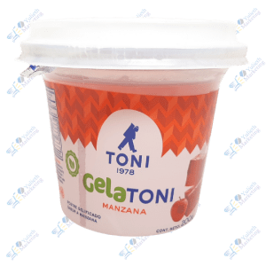 Toni Gelatoni Gelatina en Postre de Manzana 200 gr
