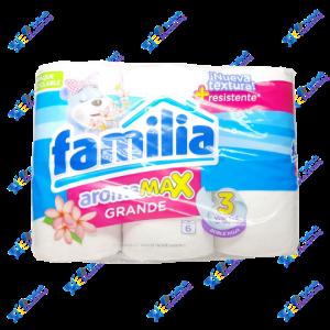 Familia Papel Higiénico Aromax Grande Pack x6u