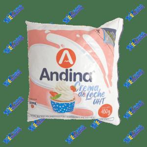 Andina Crema de Leche Funda 450 g