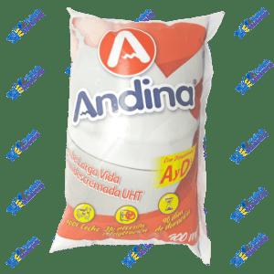 Andina Leche Semidescremada Funda 900 ml