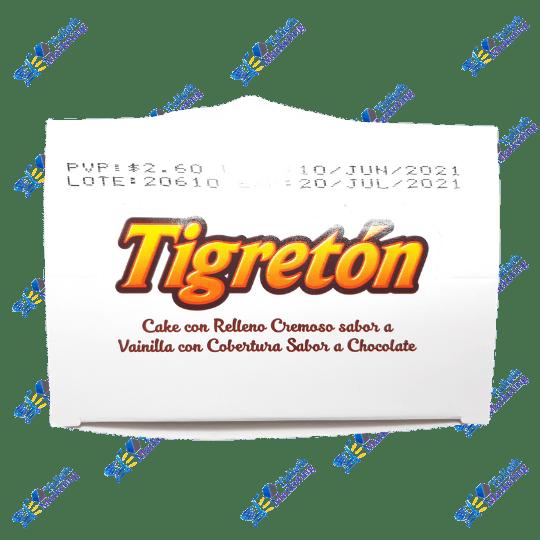 Inalecsa Tigretón Pancakes Vainilla Chocolate Packx4u 50 gr