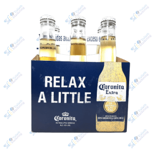 Coronita Extra Cerveza Botella 210 ml Packx6u
