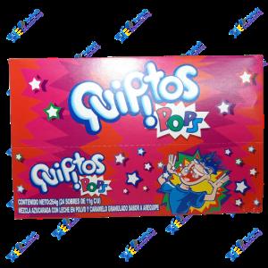 Quipitos Pops Caramelo en Polvo Arequipe 11 g Kit x 24 u 264 g