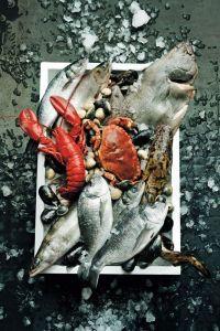 таблица пищевой ценности | рыба | морепродукты