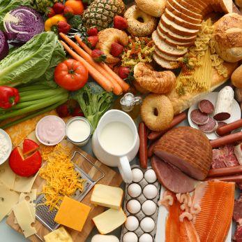 список продуктов правильного питания на неделю