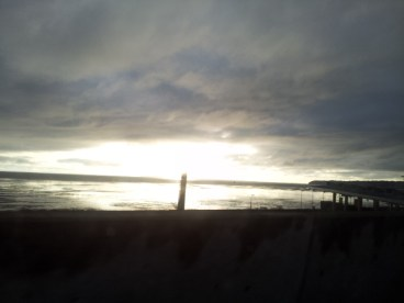 View of the Puget Sound from the Left