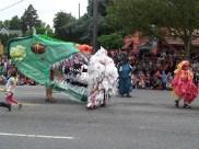 Dragon eating trash bags. Get yourself some reusable bags!