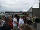 X-Men rave fest on Lego truck. Not kidding.