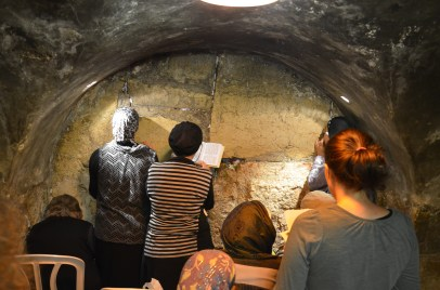 As close as possible to Holy of Holies, Western Wall Tunnels