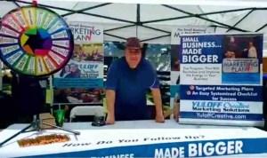 Hank Yuloff Tradeshow Prize Wheel