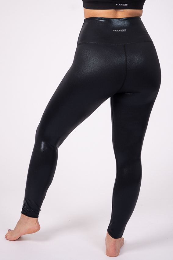 Rise and Shine High Rise Leggings – Caviar
