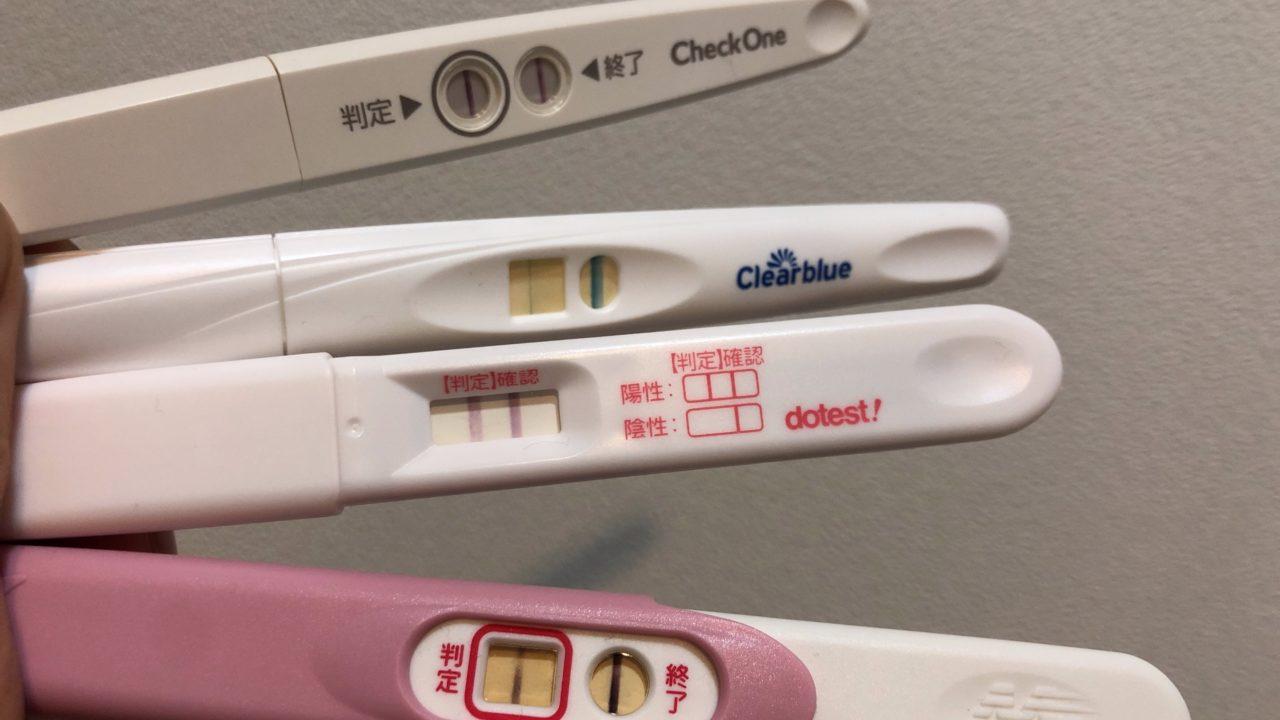 【畫像多數】妊娠検査薬フライングはいつから陽性反応がでる ...