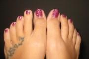 deb nails glitter toes giveaway