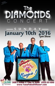 2016-01-10 The Diamonds Concert