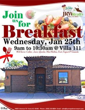 2017-01-25 Villa 111 Breakfast