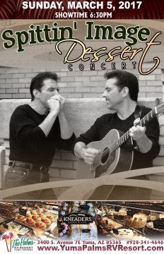 2017-03-05 Spittin Image – Dessert Concert