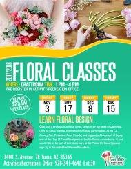2017-2018 Floral Classes