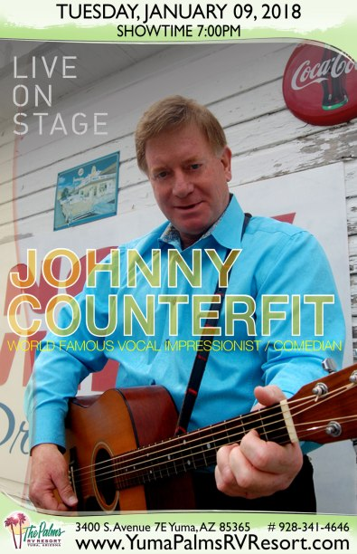 2018-01-09 Johnny Counterfit - Live Concert