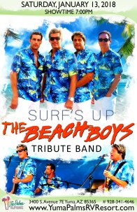 2018-01-13 Beach Boys - Tribute Concert