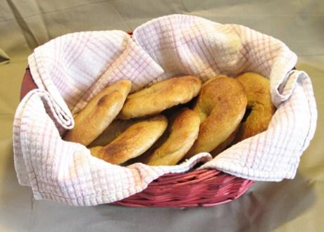 """Basket of """"Bagels"""""""