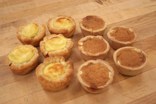 VIU Pastry: Butter tarts and Pasteis de Nata