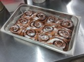Cinnamon Buns: glazed and iced