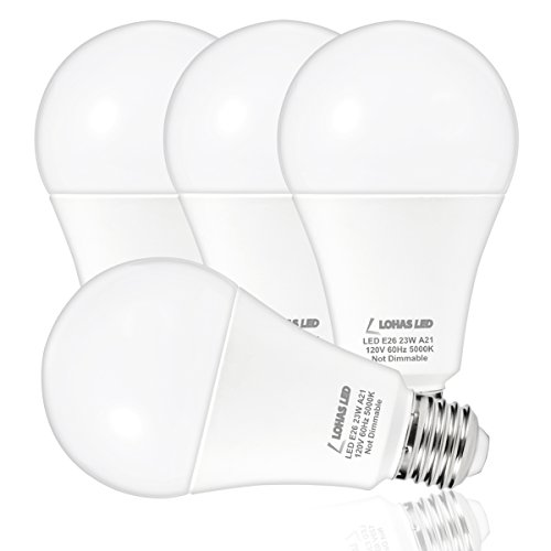 200W Equivalent A21 Dimmable LED Light Bulb, 2680 Lumens