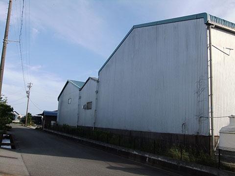工場・倉庫の外壁点検写真