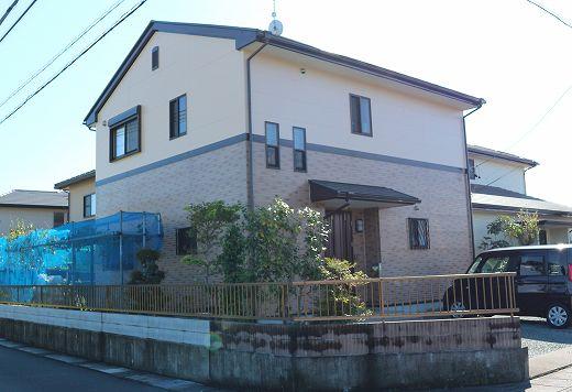 藤枝市 外壁屋根塗装工事 M様 クリヤー塗装