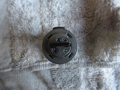シリンダー(鍵を入れる所)