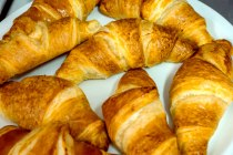 Own recipe croissants