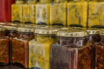 Own chutneys, piccalily and relish