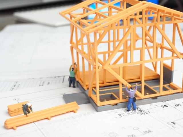 建物を建てる