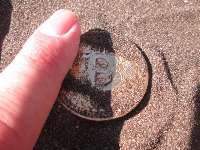 コインを見つける
