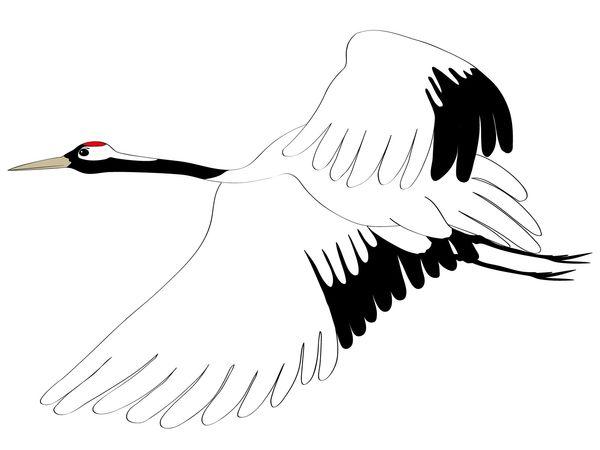 鶴の翼が折れている