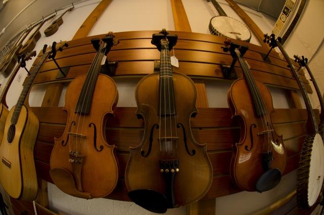 バイオリンを購入する