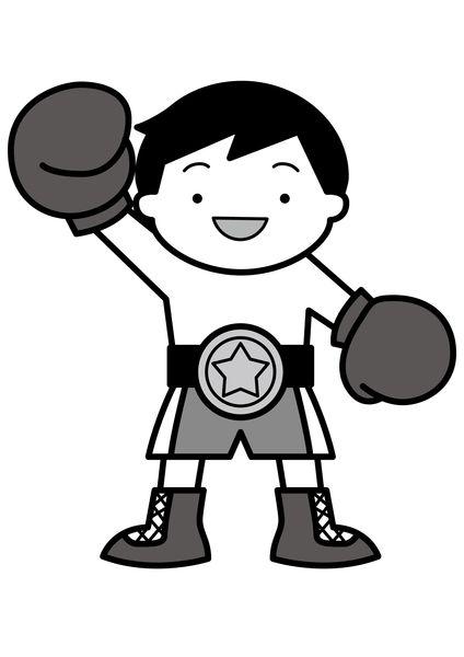 ボクシングの試合で勝つ