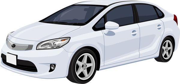 新車・高級な車を運転する
