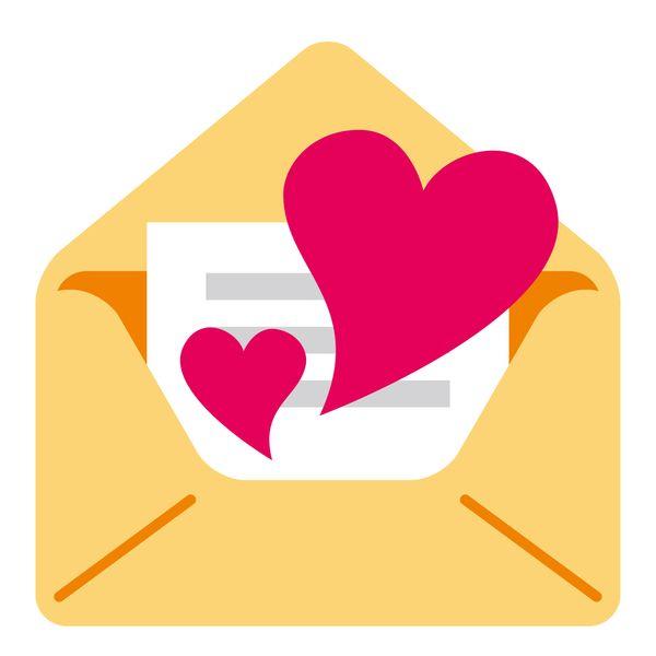 手紙やメールで告白する