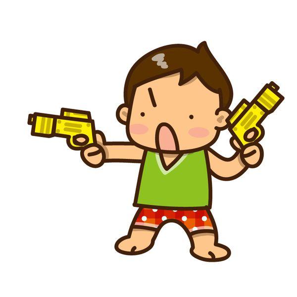 使い物にならない銃