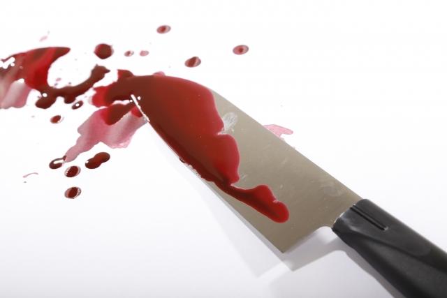 刃物やナイフで切られて血が出ない