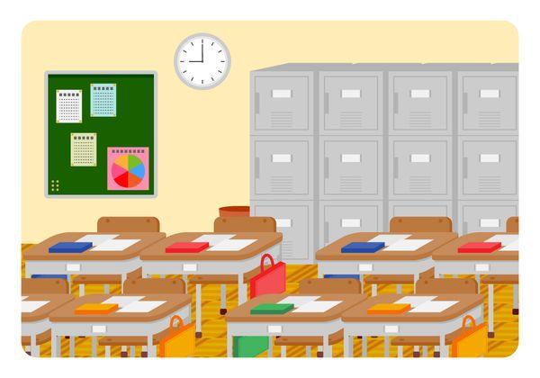 学校のロッカー