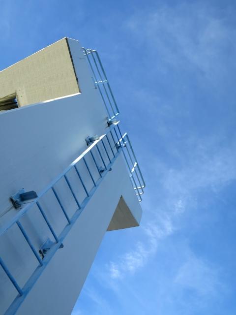 しっかりとした立派なはしご